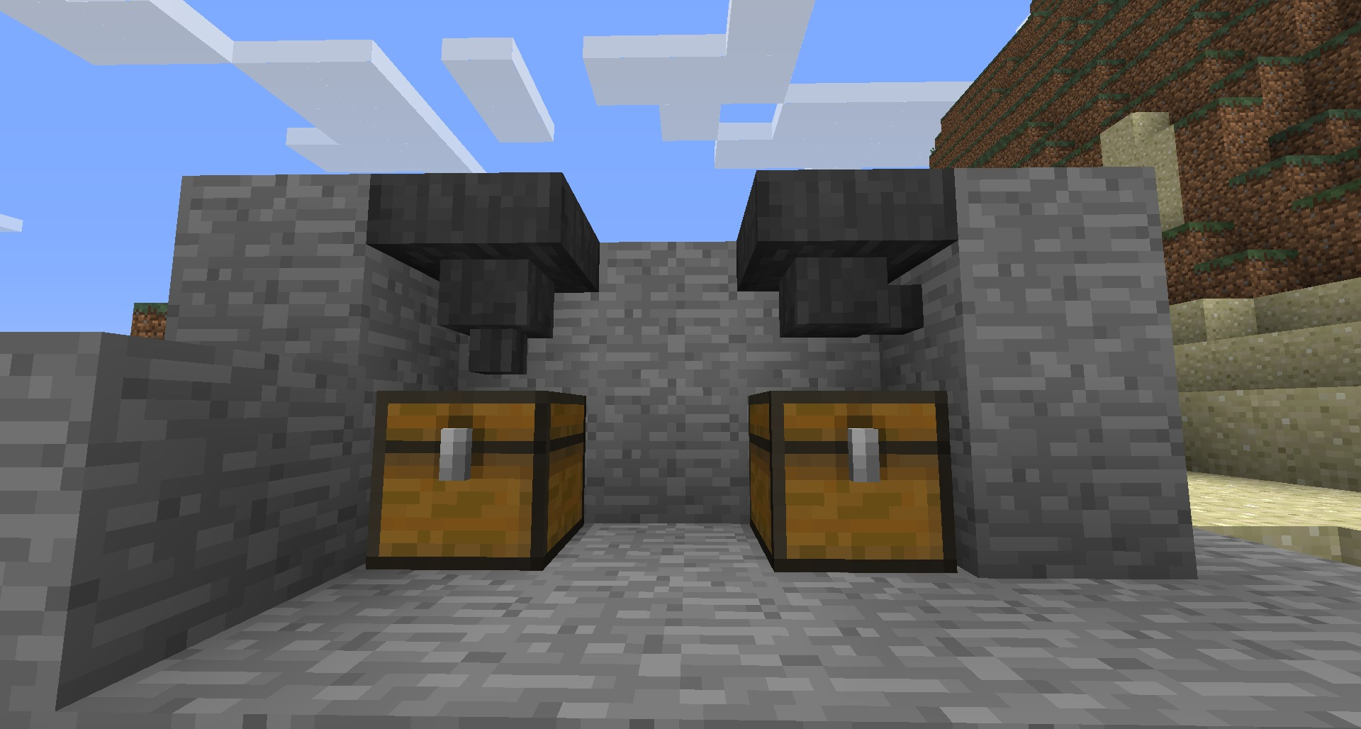 How to make a hopper in Minecraft