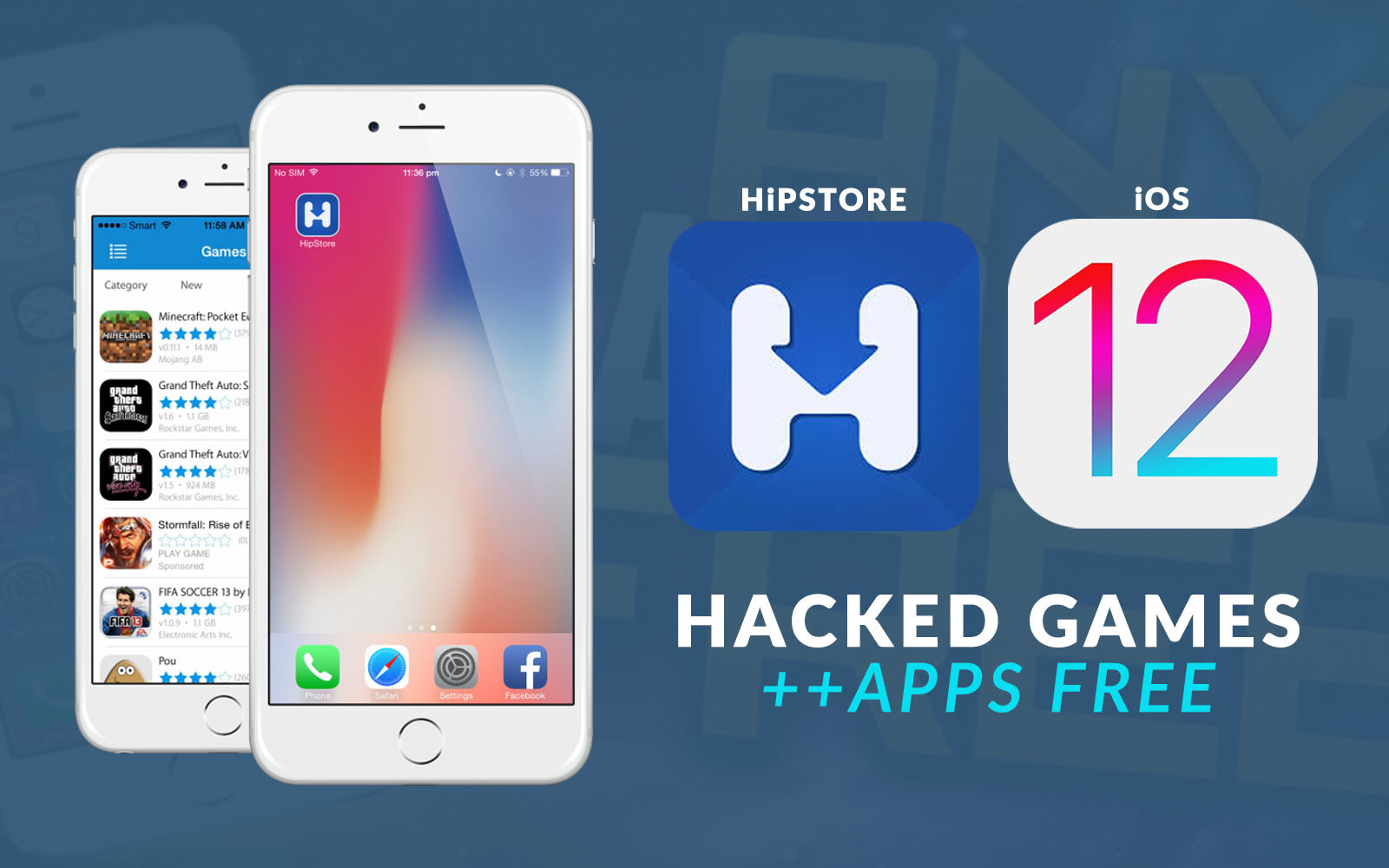 HiPStore Download And Install iOS 10 iOS 11 iOS 13