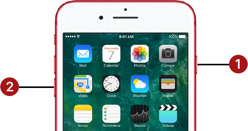 How to restart iPhone 6 6s SE 7 8 X or iPad