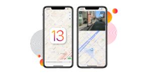 iOS 13 Maps