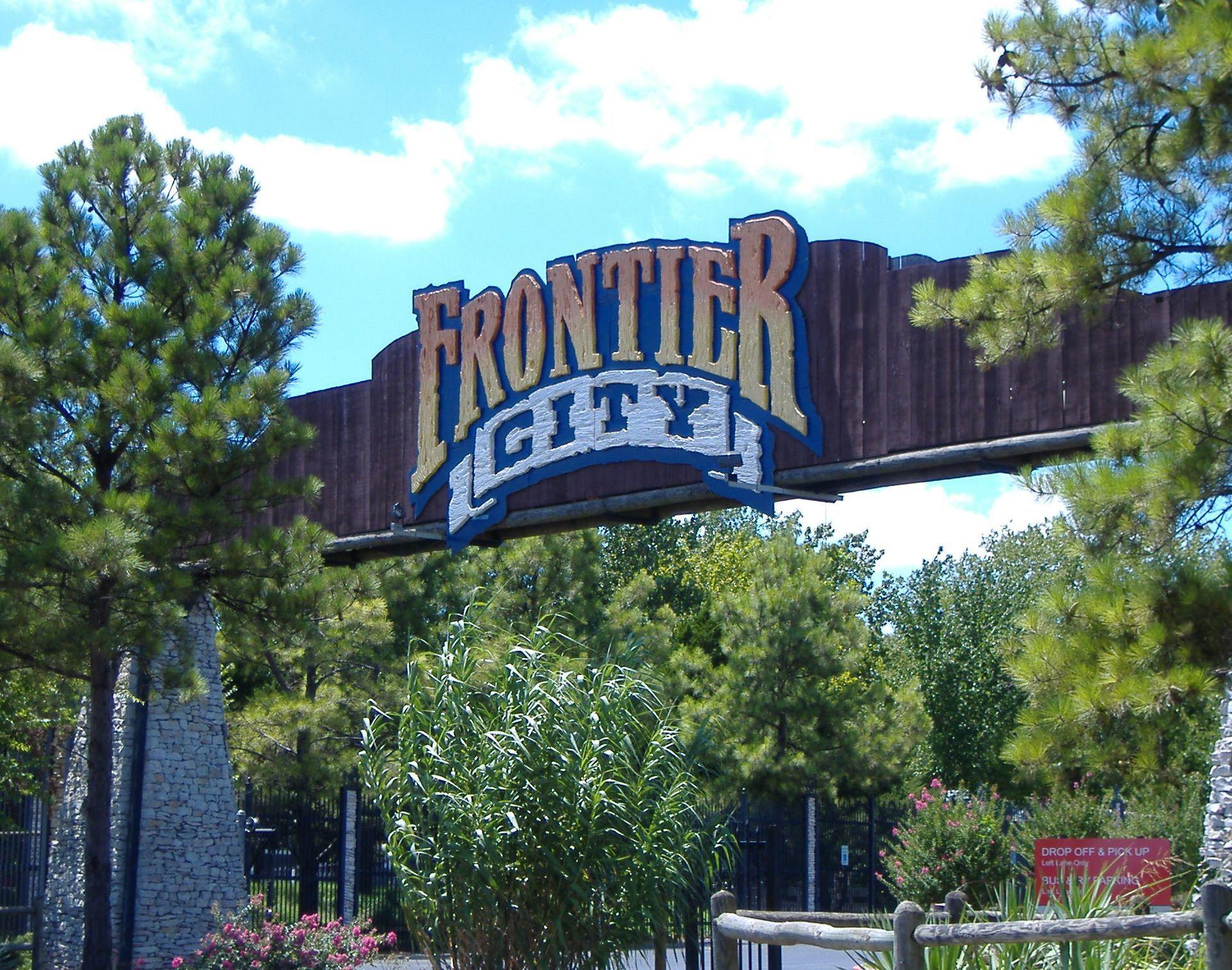 Frontier City Six Flags Theme Park