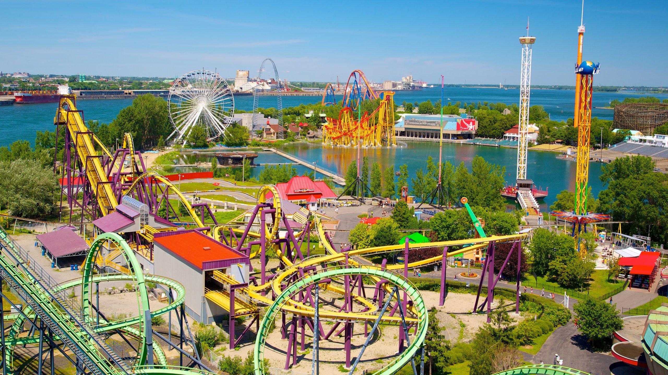 La Ronde Six Flags Theme Park