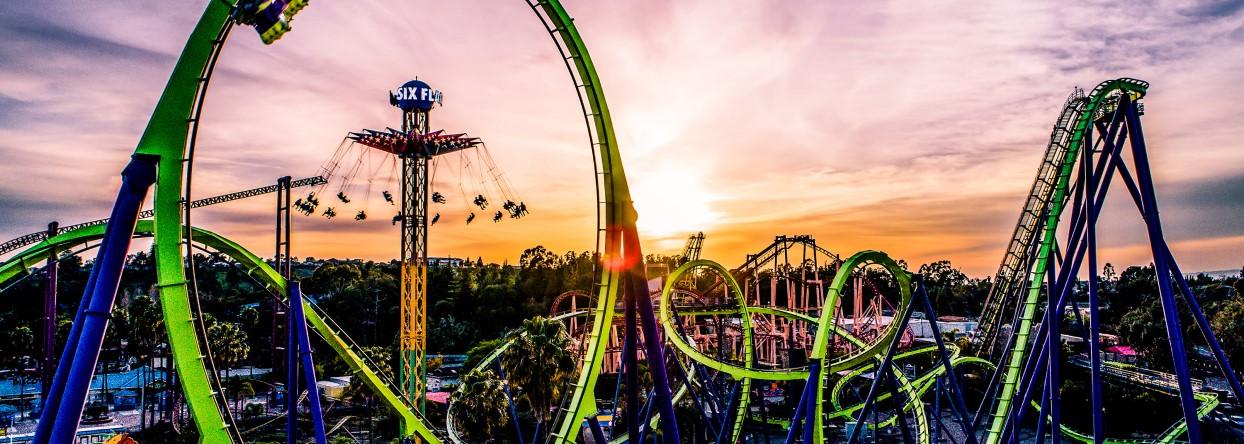 Six Flags Discovery Kingdome Theme Park