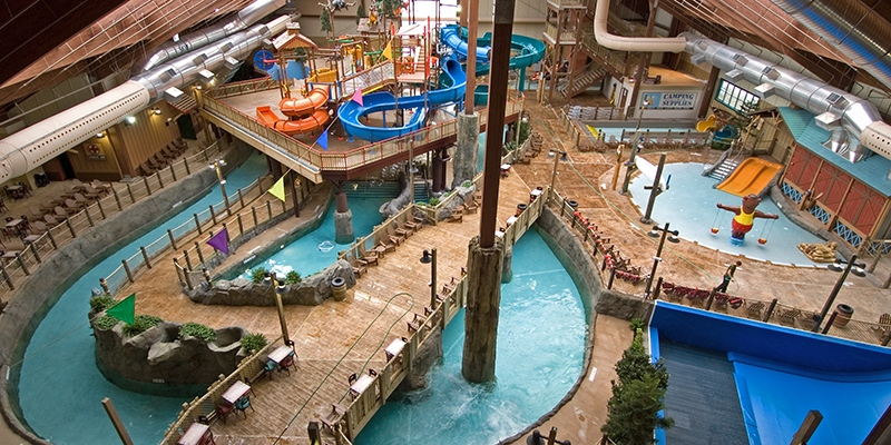 The Great Escape Six Flags Theme Park
